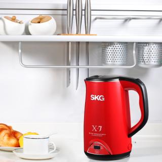 不锈钢电热水壶(3段保温-1.7L) SKG8041