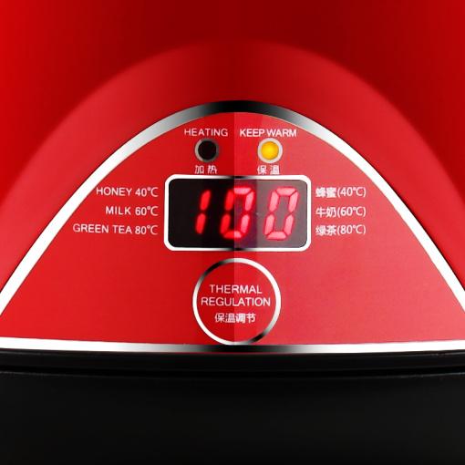 SKG 8041不锈钢电热水壶(3段保温-1.7L)