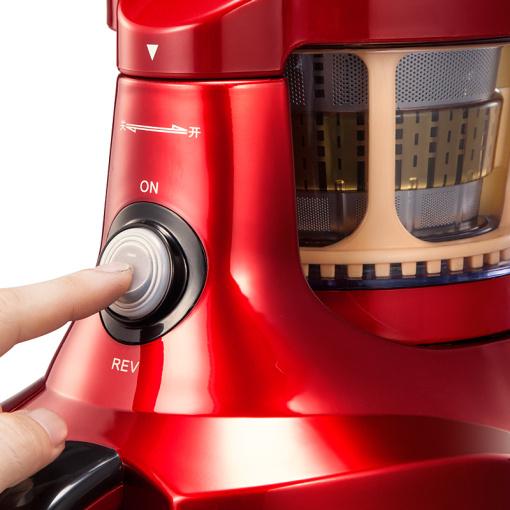 SKG1323多功能超静音原汁机(仿石磨-酒红)