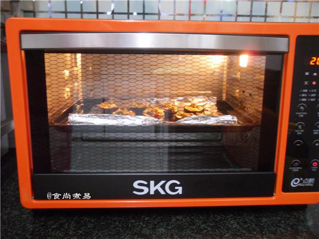 #SKG1733智能电烤箱食谱#蒜蓉烤茄子