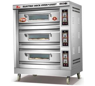 功率:12kw 电压:380v    温度:10-250度     平底,推车入 大型电烤箱