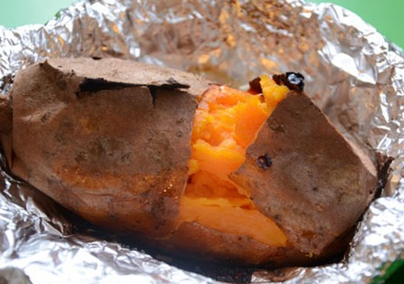 烤箱烤红薯_怎么用烤箱烤红薯